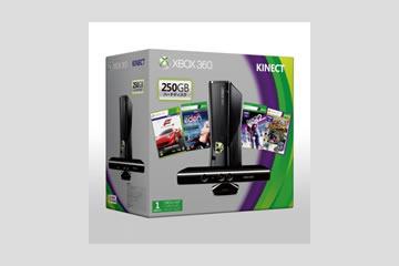 Xbox360本体 250GB+Kinect プレミアムセット S7G-00140