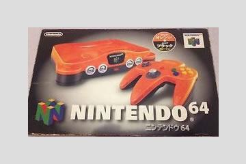 NINTENDO 64 本体 ダイエー限定 オレンジ (クリアオレンジ/ブラック)