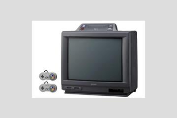 スーパーファミコンテレビ 本体 14G-SF1 シャープ製
